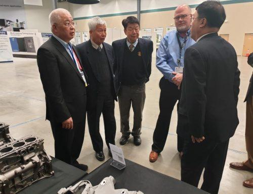 宏健底特律国际先进制造技术展示中心 开幕