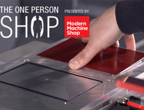 Vacuum Workholding for Thin Parts: First Episode of The One-Person Shop